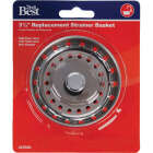 Do it 3-1/2 In. Stainless Steel Basket Strainer Stopper Image 2