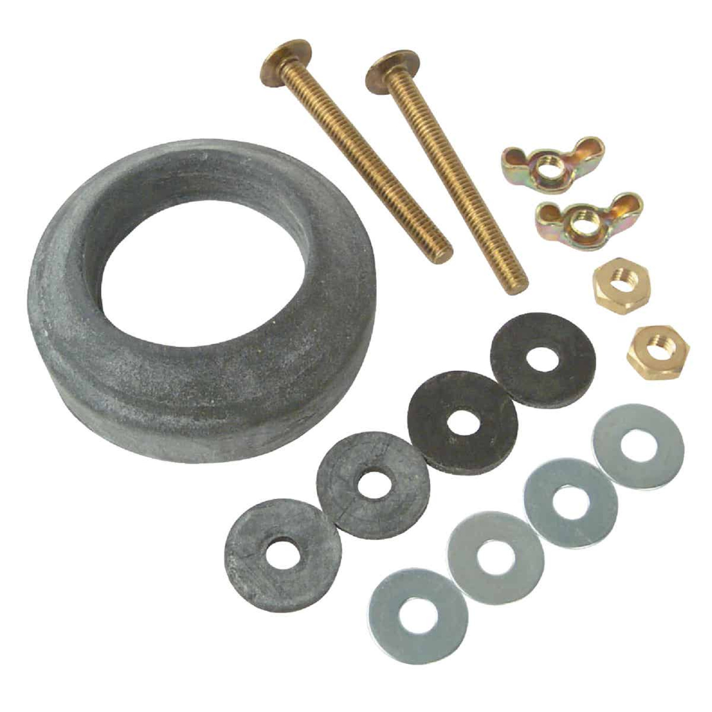 Do it Best Extra Thick Sponge Gasket and Tank Bolt Kit  Image 1