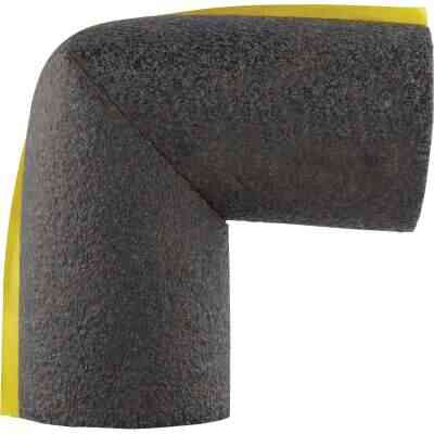 Tundra 1/2 In. Wall Self-Sealing Elbow Polyethylene Pipe Insulation Wrap, 1 In. Fits Pipe Size 1 In. Copper