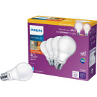 Philips Warm Glow 40W Equivalent Soft White A19 Medium Dimmable LED Light Bulb (4-Pack) Image 1