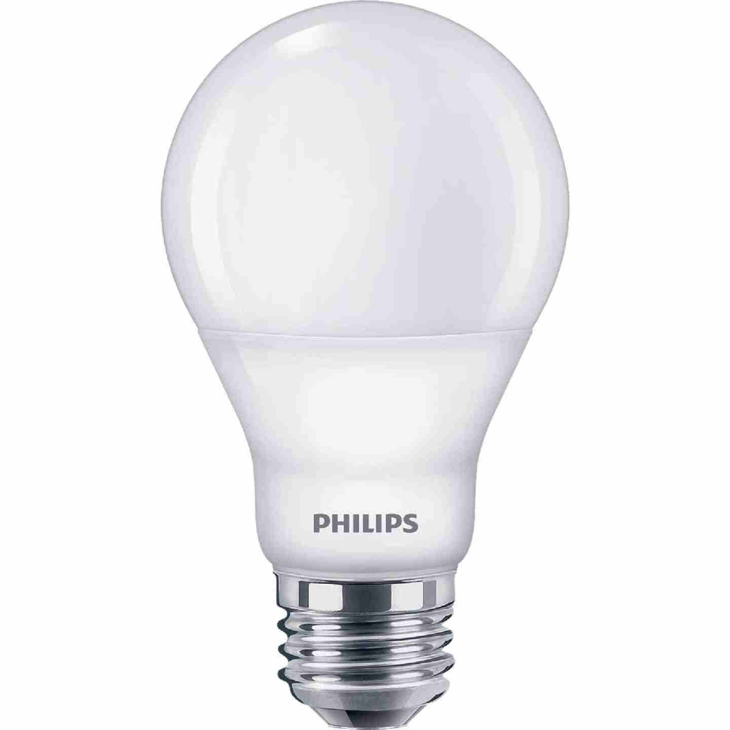 Philips Warm Glow 60W Equivalent Soft White A19 Medium Dimmable LED Light Bulb (4-Pack) Image 3
