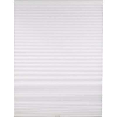 Home Impressions 1 In. Light Filtering Cellular White 31 In. x 72 In. Cordless Shade