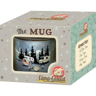 Camp Casual 15 Oz. Starry Night Ceramic Coffee Mug