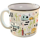 Camp Casual 15 Oz. Wanderlust Ceramic Coffee Mug Image 1