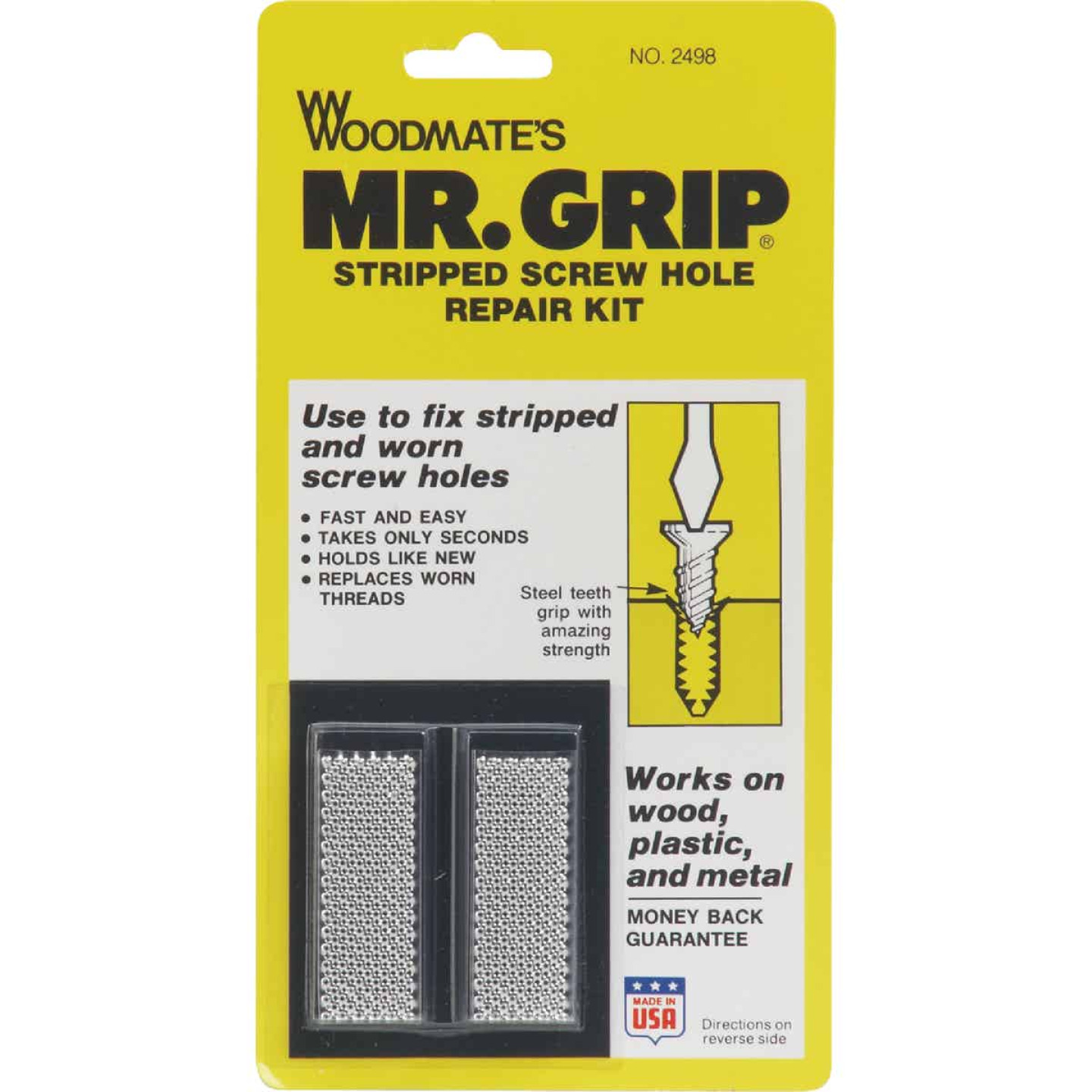 Woodmate Mr. Grip Screw Hole Repair Kit (8 Ct.) Image 1