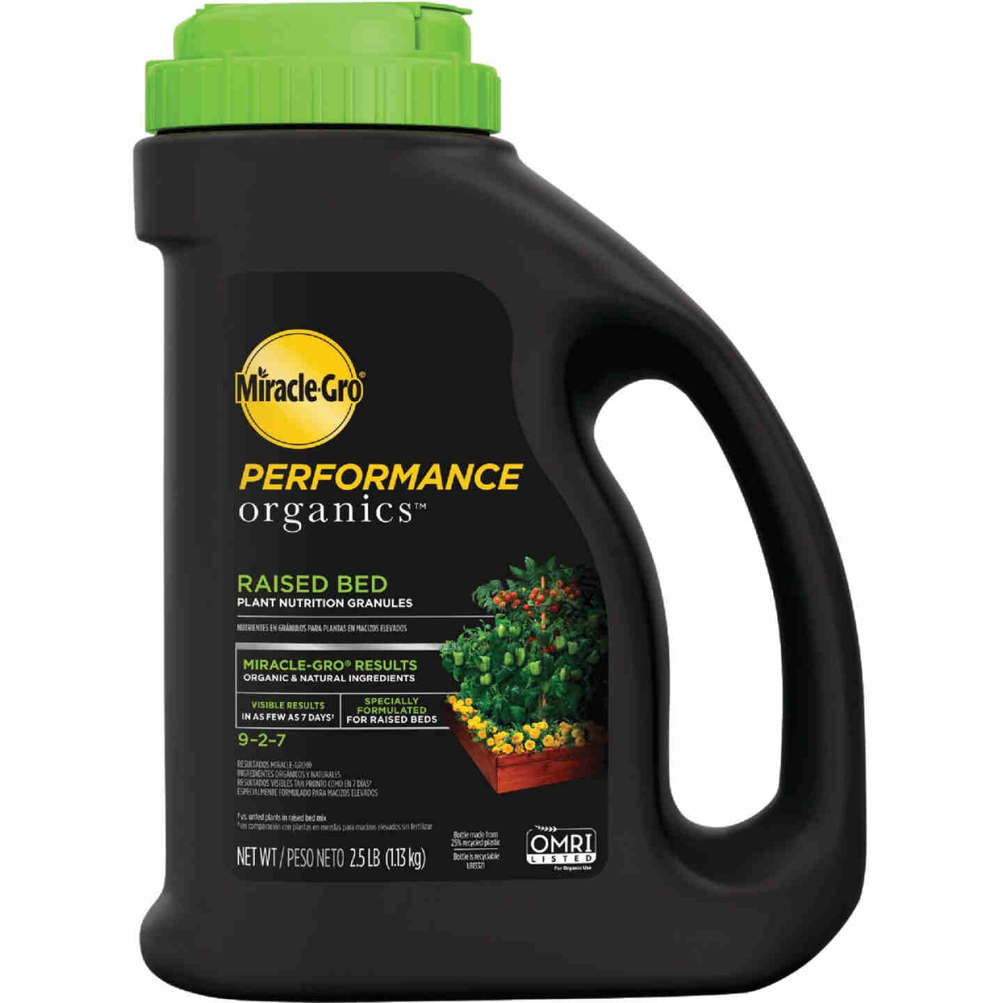 Miracle-Gro Performance Organics 2.5 Lb. 9-2-7 Plant Food for Raised Beds Image 1