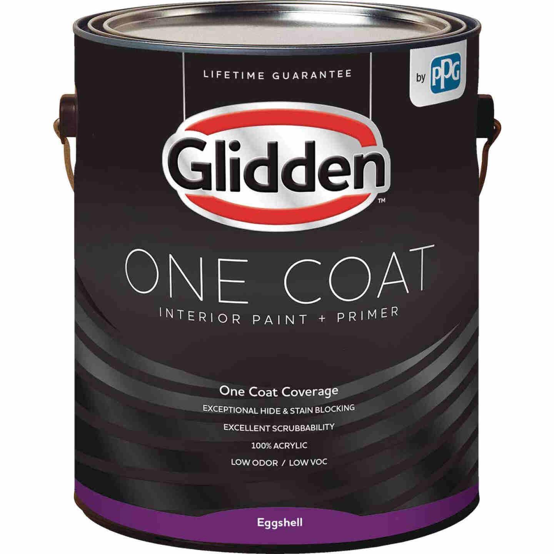 Glidden One Coat Interior Paint + Primer Eggshell Midtone Base 1 Gallon Image 1
