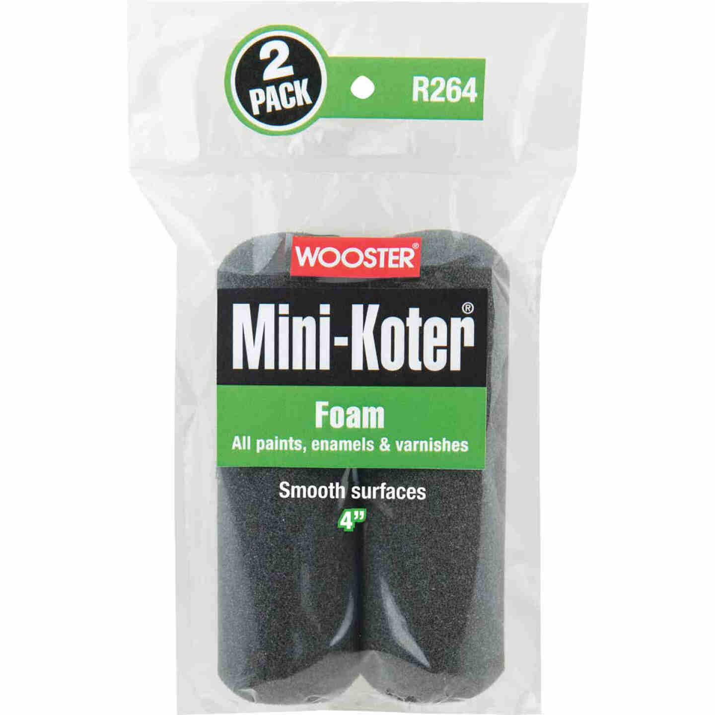 Wooster Mini-Koter 4 In. Foam Roller Cover (2 Pack) Image 1