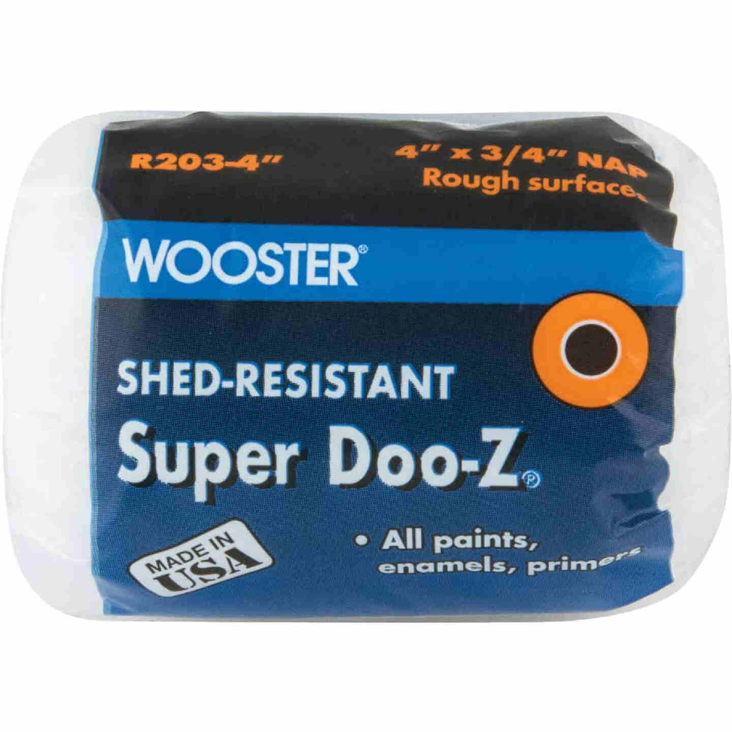 Wooster Super Doo-Z 4 In. x 3/4 In. Woven Fabric Roller Cover Image 1